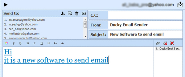 Ducky Email Sender