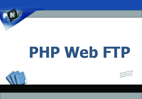 PHP Web FTP Online