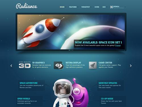 Free download radiance yootheme joomla template clone for Yootheme joomla templates free download