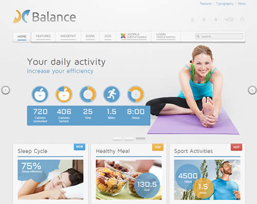 Balance Yootheme WordPress Theme