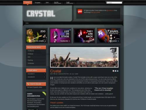 Crystal Yootheme Joomla Template