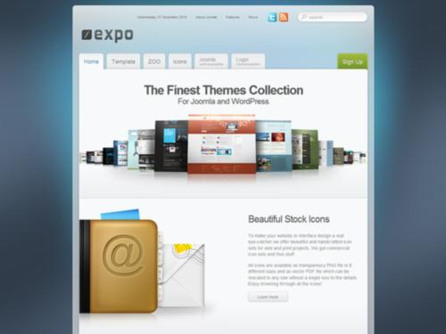 Expo Yootheme Joomla Template