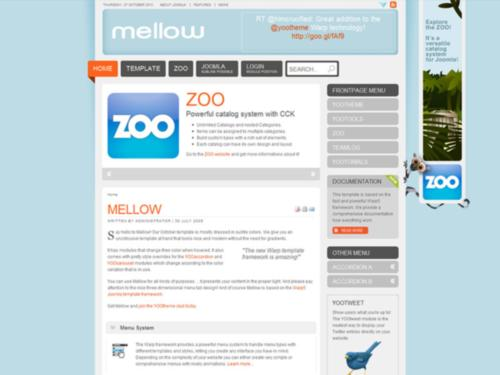 Free download mellow yootheme joomla template clone site for Yootheme joomla templates free download