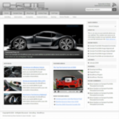 Chrome WordPress Theme
