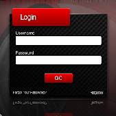 Login Box Carbon Fiber Full PSD