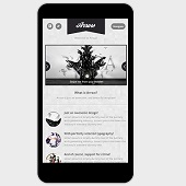 Arrow Mobile Retina | HTML5 & CSS3 and iWebApp